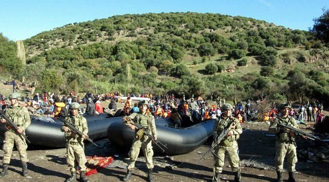 Ege'deki mülteci operasyonları artırıldı