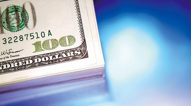 Dolar 2.92'nin kıyısından döndü