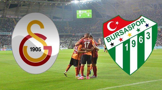 Galatasaray Bursaspor maçı ne zaman, saat kaçta?