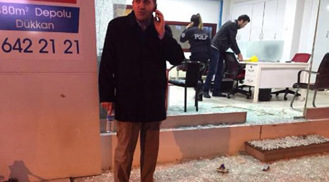 DSP'li eski il başkanına silahlı saldırı!
