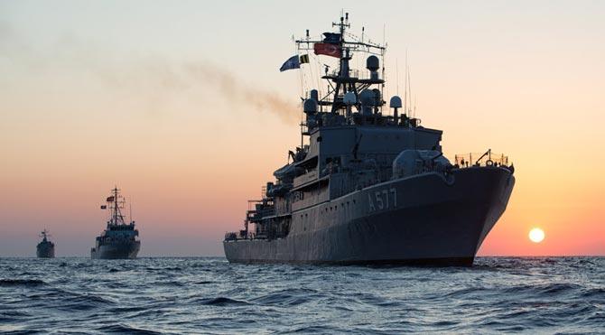 Sizce Akdeniz'de ne kadar savaş gemisi var? İşte cevabı!