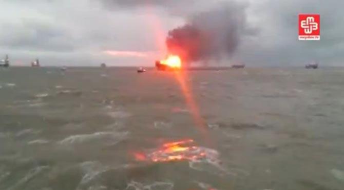 Azerbaycan'da petrol tesisinde yangın: 32 ölü!