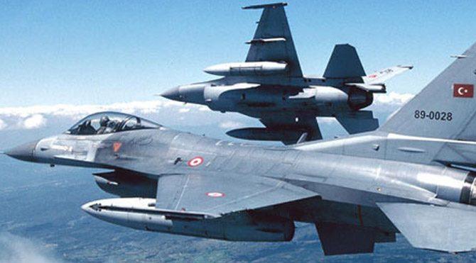 Şırnak'ta PKK sığınaklarına hava harekatı