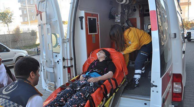 Adıyaman'da soba gazı 4 kişiyi hastanelik etti!