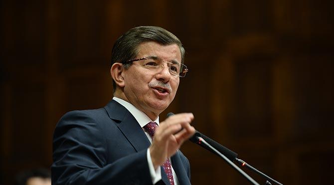 Davutoğlu'ndan Irak'a jet mektup!