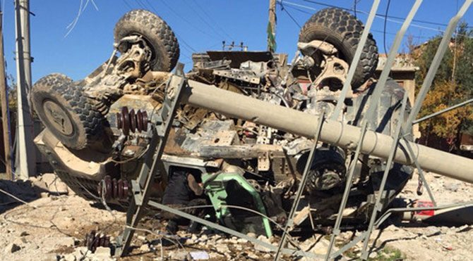 Bombalı tuzak: 6 polis yaralı!