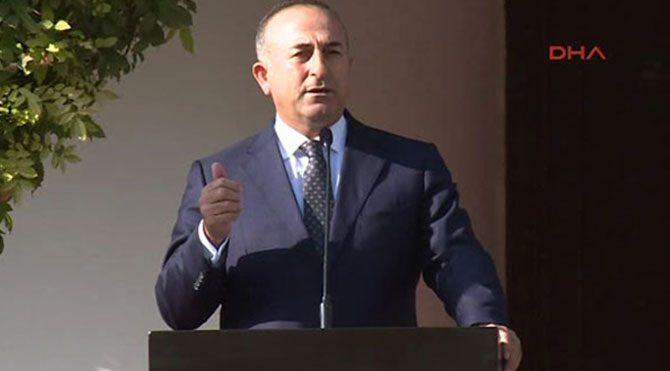 Çavuşoğlu: Füzeli asker duruşu provokasyon