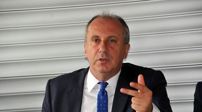 CHP'li İnce'den referandum iddiası
