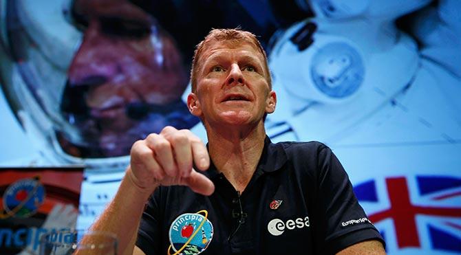 İngiliz astronot uzayda maraton koşacak