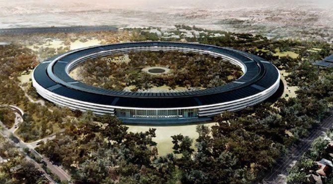 Apple Campus 2'den yeni görüntüler