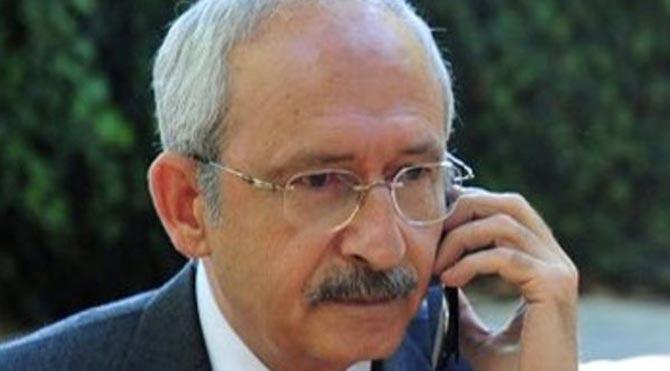 Kılıçdaroğlu'ndan başsağlığı telefonu!