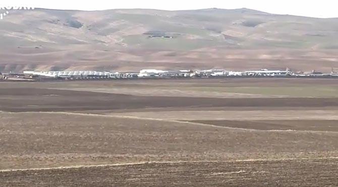 1400 komandomuz 30 tankla Irak'taki bu üsse konuşlandı