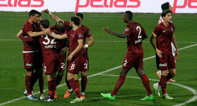 Trabzon 3-1 Eskişehir geniş maç özeti izle