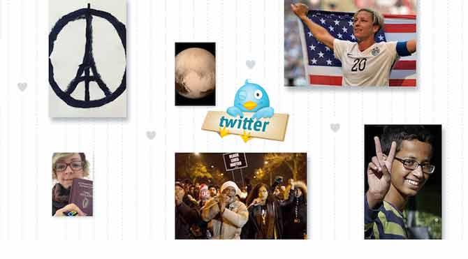 Twitter 2015 yıl sonu özetini yayınladı