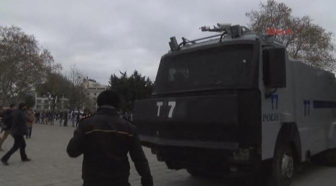 Beyazıt Meydanı'nda kavga çıktı