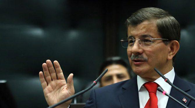 Ahmet Davutoğlu muhalefete yüklendi