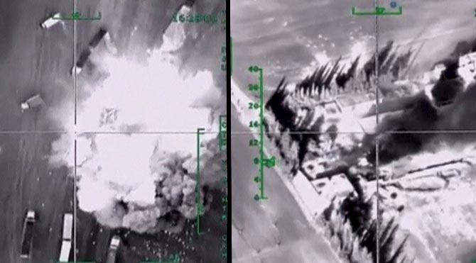 'Koalisyon güçleri Suriye'de sivilleri vurdu'