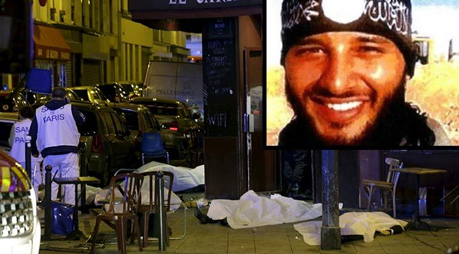 Paris'teki üçüncü bombacının kimliği belirlendi