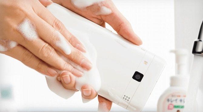 Bulaşık yıkar gibi temizleyebileceğiniz telefon geliştirildi!