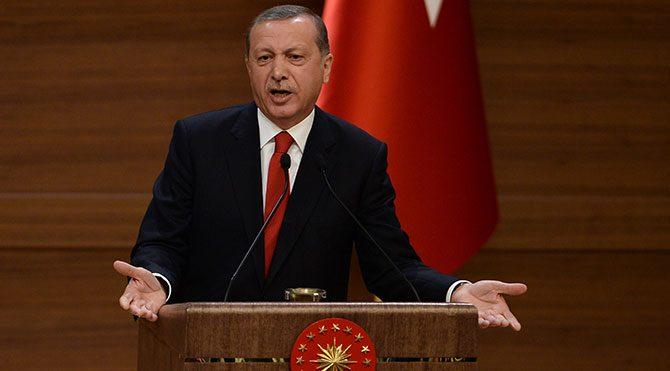 Erdoğan Kültür-Sanat Ödülleri'nde konuştu