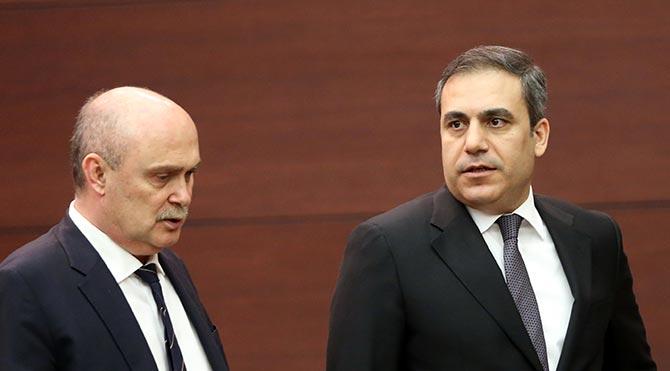 MİT Müsteşarı Hakan Fidan ve Feridun Sinirlioğlu Bağdat'a gidiyor!