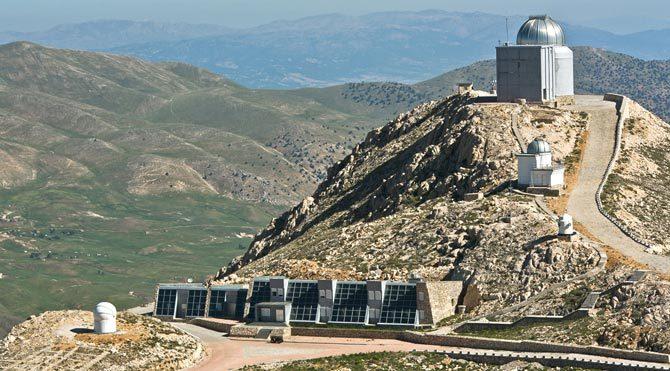 TÜBİTAK'ın teleskobuna toz kaçtı