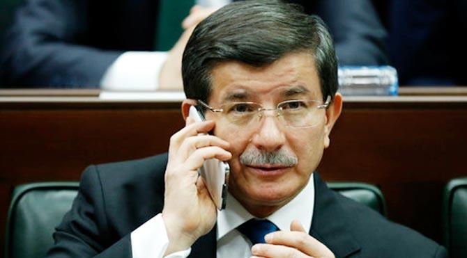 Davutoğlu'ndan ABD'ye Musul telefonu!