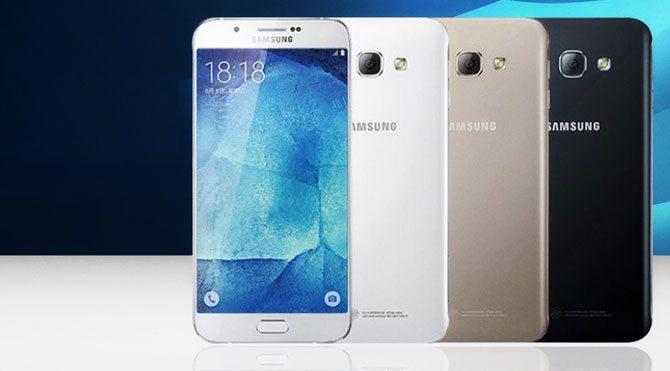 Galaxy A8 duyuruldu