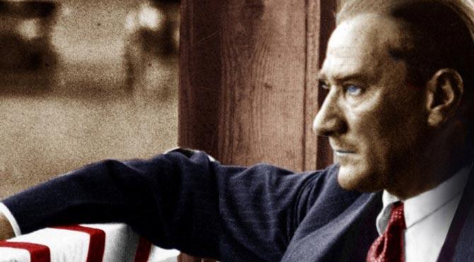 """Atatürk'ün sözü """"kent estetiğine"""" aykırı bulundu"""