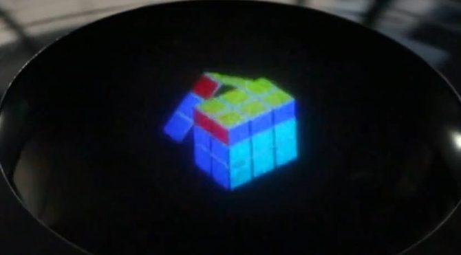 Renkli ve 3 Boyutlu hologram teknolojisi gerçek oldu!