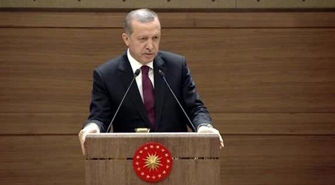 Erdoğan programını iptal etti