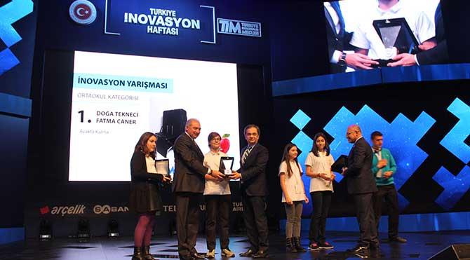 Darüşşafaka'ya 2 inovasyon ödülü
