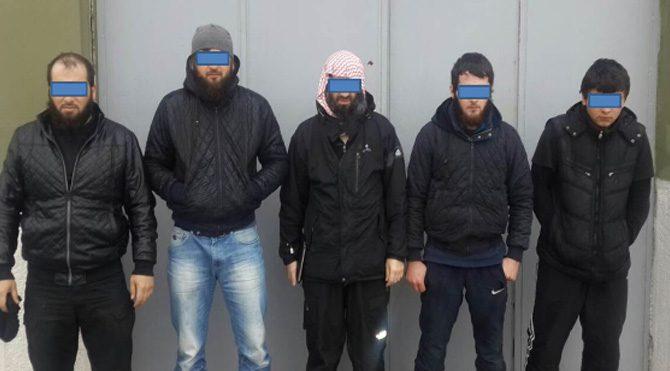 913 IŞİD'li yakalandı!