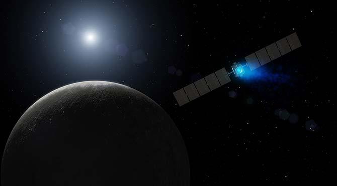 NASA cüce gezegenlerin en büyüğü Ceres'in videosunu yayınladı