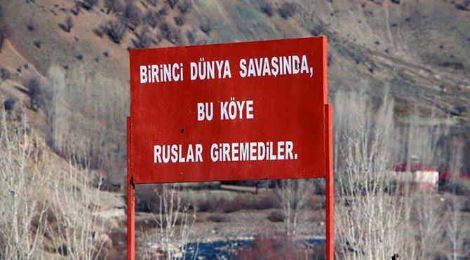 İşte Ruslar'ın giremediği o köy!