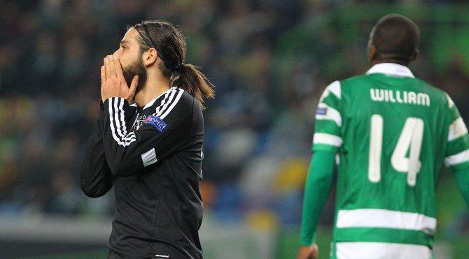 Sporting Lizbon 3-1 Beşiktaş geniş maç özeti izle