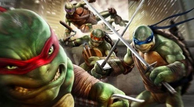 Ninja Kaplumbağalar'dan ilk fragman