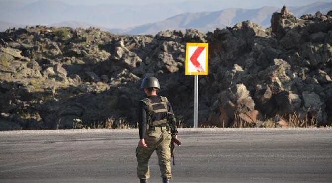 Şırnak'ta 2 uzman çavuş kayıp