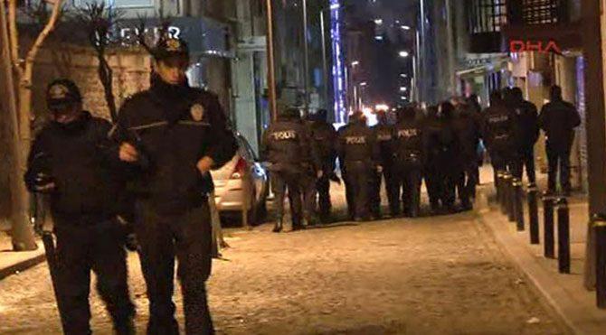 DİSK önünde eyleme 5 gözaltı
