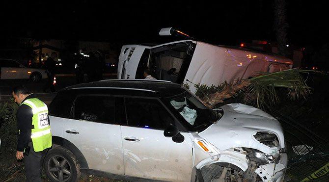 Doktor, kadın sürücüyü taciz etti: 19 yaralı