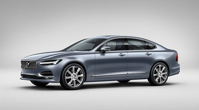 Volvo'nun yeni premium sedanı S90