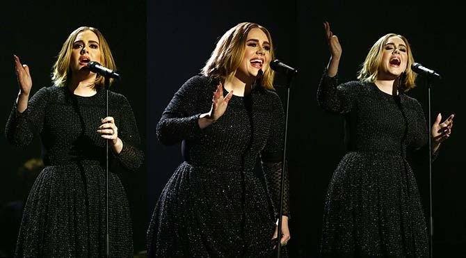 Adele yeni saçlarıyla sevenlerinin karşısına çıktı