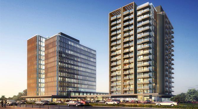 Avrupa Residence & Office Ataköy'de yükseliyor
