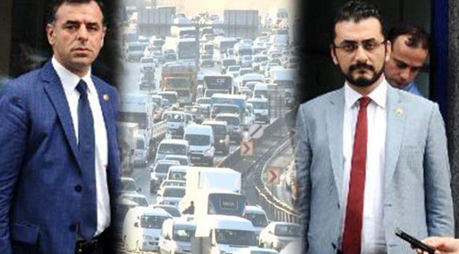 CHP'lilerden İstanbul trafiği için kanun teklifi!