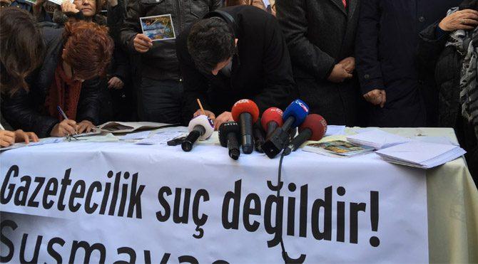 Gazetecilerden Silivri'ye mektup