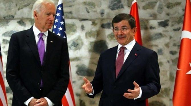 Davutoğlu Biden'le telefonla görüştü!