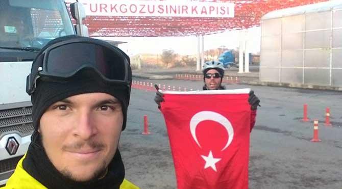 """Sağlıklı nesiller için """"Pedal Pedal Türkiye"""" projesi Gürcistan'a ulaştı!"""