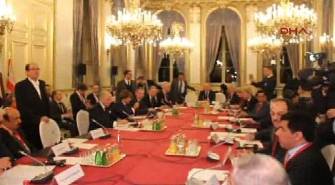 Paris zirvesinden 'ateşkes' çağrısı çıktı