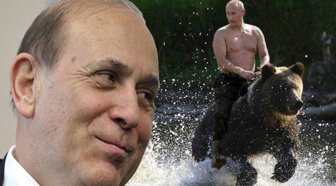 Burhan Kuzu'dan Putin'e 'ayı' göndermesi