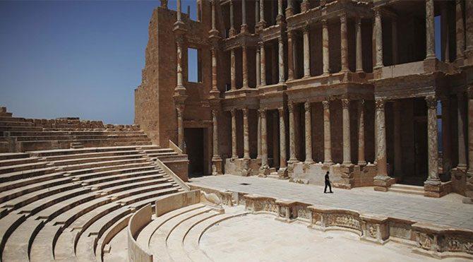 Sabratha Antik Kenti IŞİD'in eline geçti